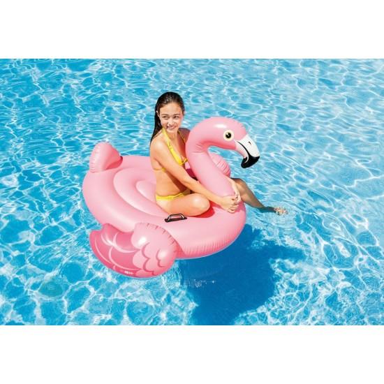 Надуваем остров Фламинго Intex 218x211x136см. - Хита на лятото!!! Бъдете уникални на плажа!