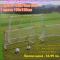 Детски Футболен Комплект - 2 врати с мрежа + 2 броя топки + помпа