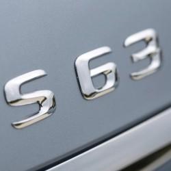 Емблема S63 за Мерцедес Бенц