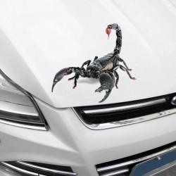 3D Стикер за кола скорпион- водоустойчив