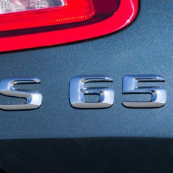 Емблема S65 за Мерцедес Бенц