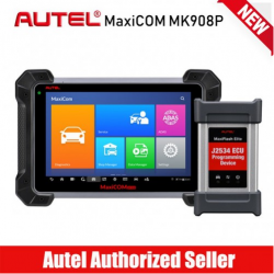 Autel Maxisys Pro MK908P, Top OBD2 Diagnostic Scanner with J2534 Reprogramming, ECU Coding, Active Test, 30+ Service Functions, Same as Maxisys Elite, MS908P