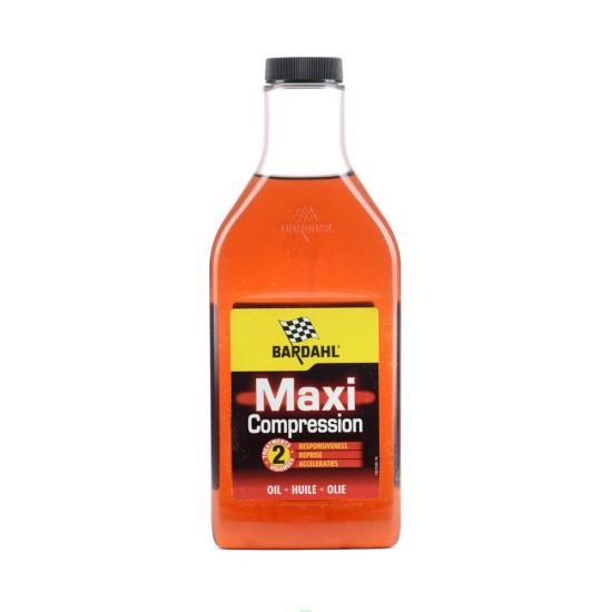 Добавка за масло за увеличаване на компресията и спиране на течовете Maxi Compression Bardahl BAR-1030 - 500 мл.