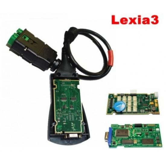 Lexia 3 Diagbox V7.83 за Пежо и Ситроен - FULL CHIP 921815C