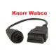 Преходник 7 пина за Knorr Wabco ремаркета