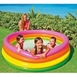 Детски надуваем басейн INTEX Sunset Glow 168 х 46 см. голям