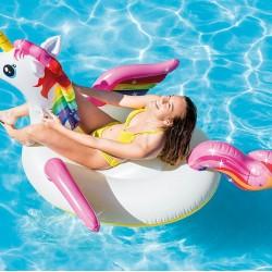 Надуваем Еднорог INTEX Unicorn Ride-on 201 х 140 х 97 см