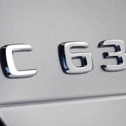 Емблема C63 за Мерцедес Бенц