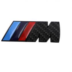 Емблема Black М Power за багажник на БМВ
