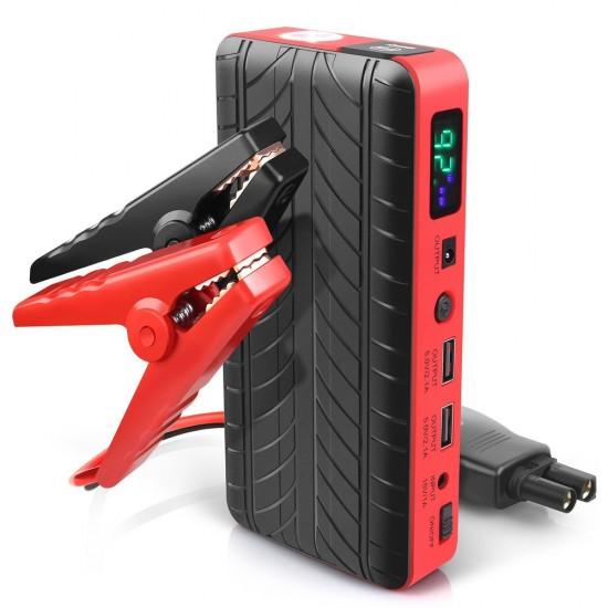 Външна батерия Jump starter Power Bank и бустер стартер за автомобили 9800mAh