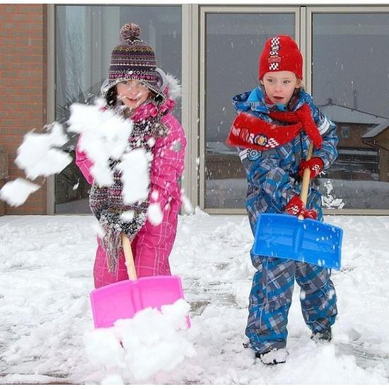 Детско гребло за сняг с подарък пъзел TEDDY