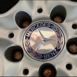 Капачки за джанти Мерцедес 75 мм. - Немско качество!