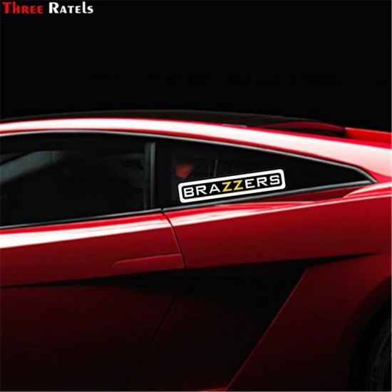 3D car sticker BRAZZERS - water resistant
