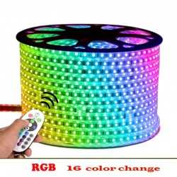 LED лента RGB на метър с диод от най-висок клас 5050, Водустойчива
