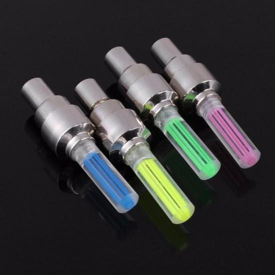 Светещи LED капачки за вентили на коли, мотори и велосипеди