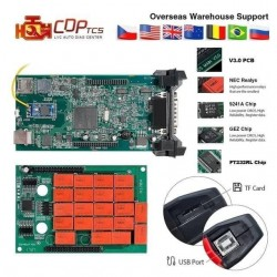 Диагностика CDP + PRO, Автоматична Интерфейс мултимедия, Български език, Bluetooth, Последна версия, Съвместима с автомобили и камиони