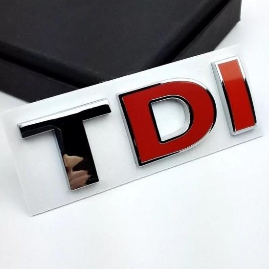 Емблема TDI за заден капак на Фолксваген