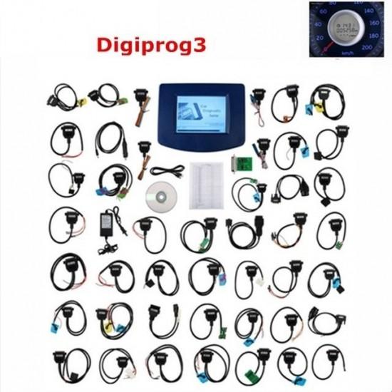 Digiprog 3 v4.94 диагностика за корекция на километрите - пълен комплект