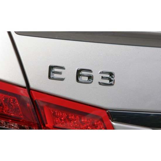 Емблема E63 за Мерцедес Бенц