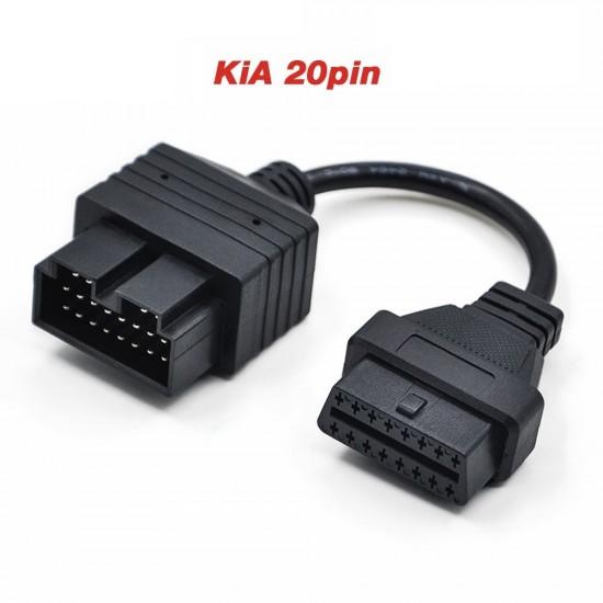 Преход за KIA 20 пина към 16 pin OBD2