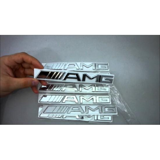 Емблема AMG за багажник на Мерцедес Бенц