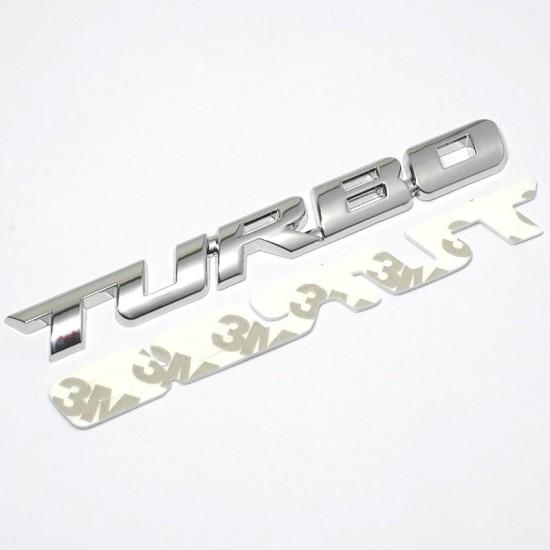 3D car sticker TURBO - water resistant