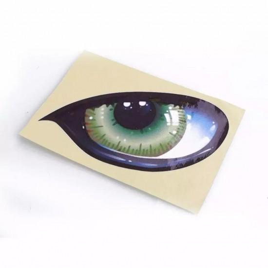 3D Стикер котешки очи 2бр. - водоустойчиви