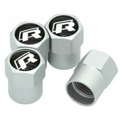 Капачки за вентили - R Line за Фолксваген - комплект 4 броя.