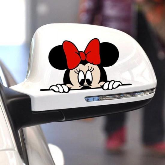3D Стикер за кола - Мини Маус