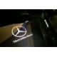 LED Лого проектор за врати - Mercedes