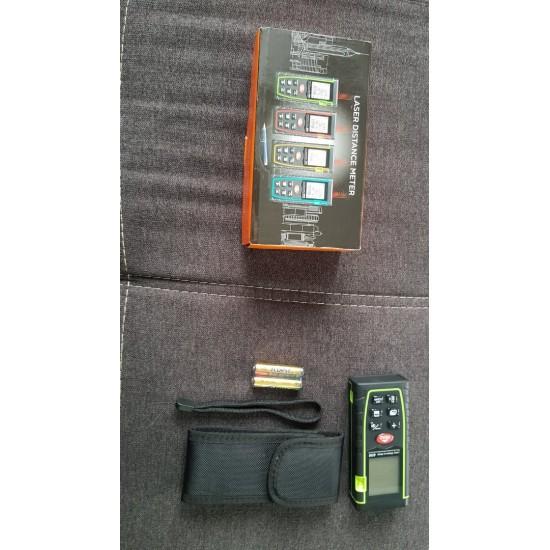 Лазерна ролетка - 40м 1.8 инча LCD дисплей
