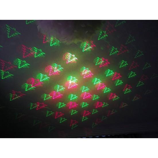 LED Коледен лазерен прожектор / LED Външен Диско ефект, цветен прожектор