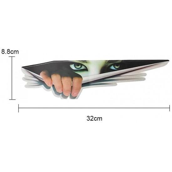 Стикер женски очи - водоустойчив