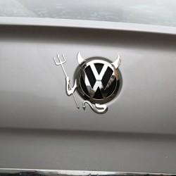 VW Emblem - Devil