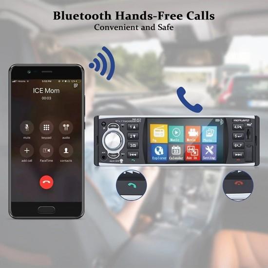 Мултимедия аудио и видео плеър за кола 4.1инча+камера за задно виждане, дистанционно, и Mp3 Mp4 MP5 плеър