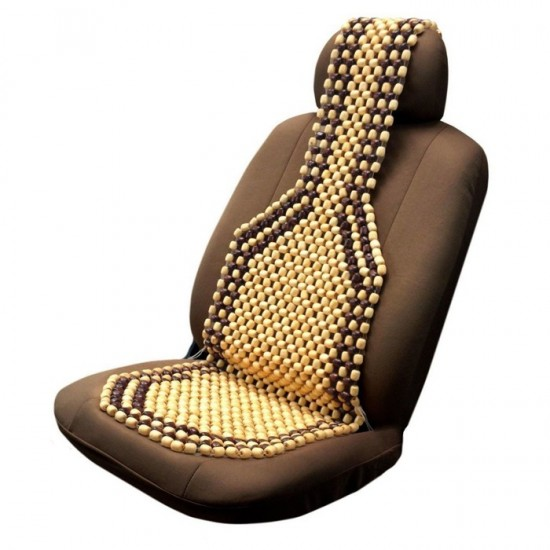 Седалка за кола масажна с дървени топчета