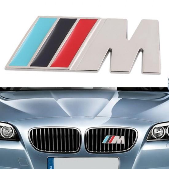 Емблема М Power за предна решетка/бъбрек на БМВ