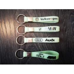 Kлючодържател за Audi - Флоурисцентен