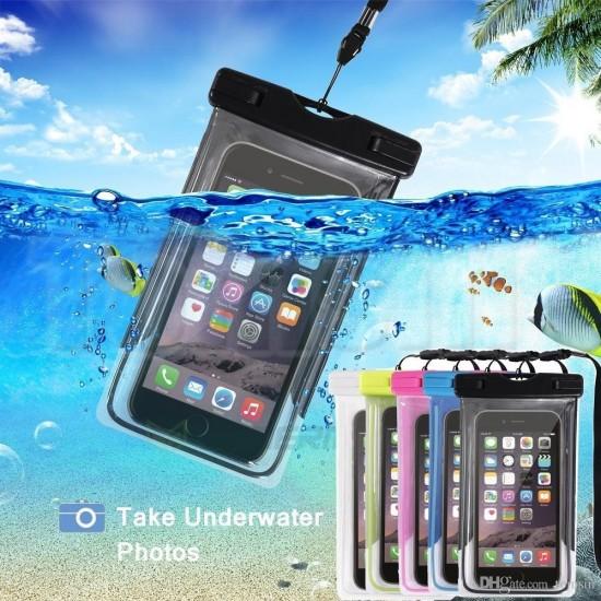 Водоустойчив Калъф за Подводни Снимки - Универсален за телефони до 6 инча