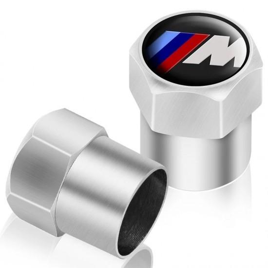 Капачки за вентили - M Power за БМВ - комплект 4 броя.