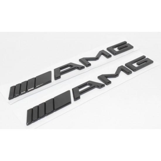 Емблема AMG Black за багажник на Мерцедес Бенц