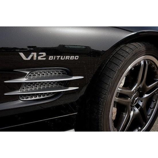 Емблема за Мерцедес Бенц - V12 BITURBO