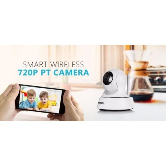 WIFI IP Camera - Безжична HD камера за видеонаблюдение от разстояние с опция за въртене