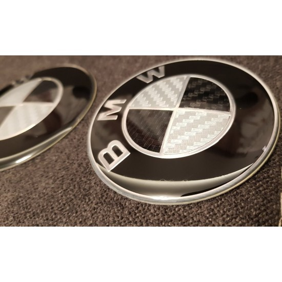 Карбон Емблема за БМВ/BMW - Немско качество!