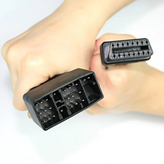 Кабел-преходник за Тойота 22 pin мъжки към 16 pin OBD2
