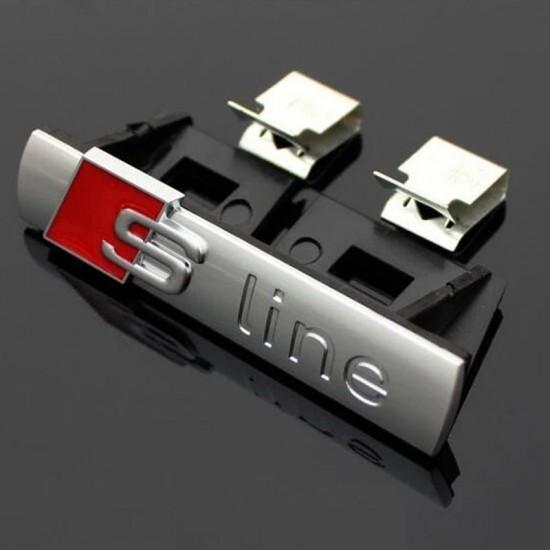 Емблема S Line за предна решетка на Ауди