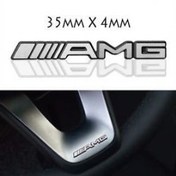 Стикер AMG 35х4мм за интериор на Мерцедес Бенц