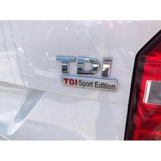 Емблема TDI Sport Edition за Фолксваген