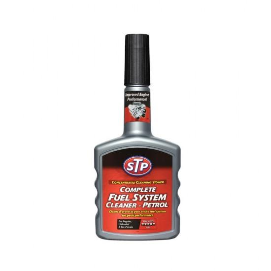 STP Добавка за цялостно почистване на горивната система – бензин 400мл
