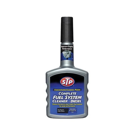 STP Добавка за цялостно почистване на горивната система – дизел 400мл